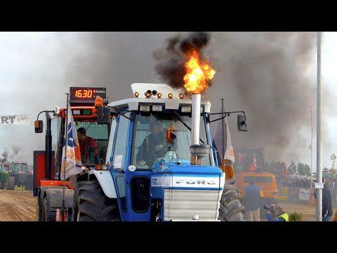 Agrisport klasse | Trekkertrek Dirksland 2015 | Tractorpulling