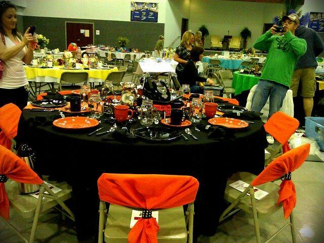 Harley davidson themed table decoration harley davidson for Decoration maison harley davidson