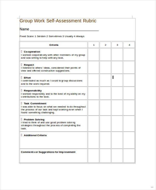 Student Self Assessment Form Competent Snapshot Original 1