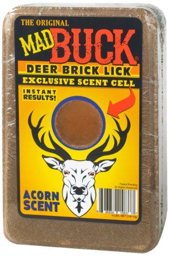 Mad Buck Innovations Deer Brick Salt Lick Mineral Block with Exclusive Scent Cell, Acorn Scent  http://www.deerattractant.info/product/mad-buck-innovations-deer-brick-salt-lick-mineral-block-with-exclusive-scent-cell-acorn-scent/   #deer #deerattractant #deerhunter #deerhunting