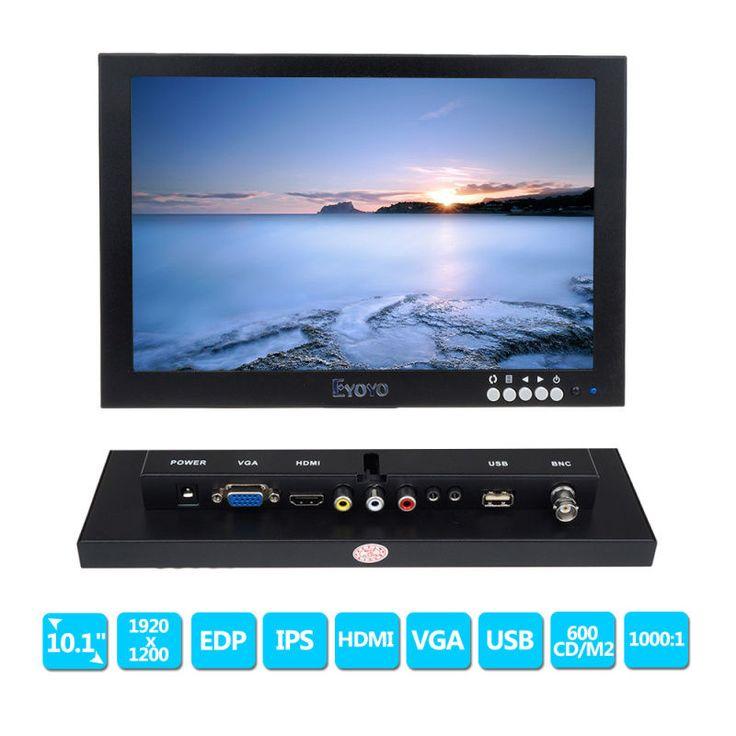 """Купить товарEyoyo 10 """"IPS HD 1920*1200 VGA Видео Аудио HDMI Монитор для Микроскопа, КАБЕЛЬНОЕ ТЕЛЕВИДЕНИЕ, DVD, ПК в категории ЖК-мониторына AliExpress. Eyoyo 10 """"IPS HD 1920*1200 VGA Видео Аудио HDMI Монитор для Микроскопа, КАБЕЛЬНОЕ ТЕЛЕВИДЕНИЕ, DVD, ПК"""