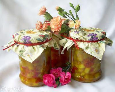 Di gotuje: Cukinia z papryką i cebulą (do słoików)