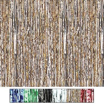 Metallic Party Curtains