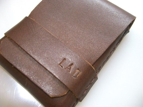Mens Wallet Leather Wallet Minimal Wallet Gift For by leathermix