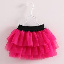 Resultado de imagen para faldas con tul para niñas