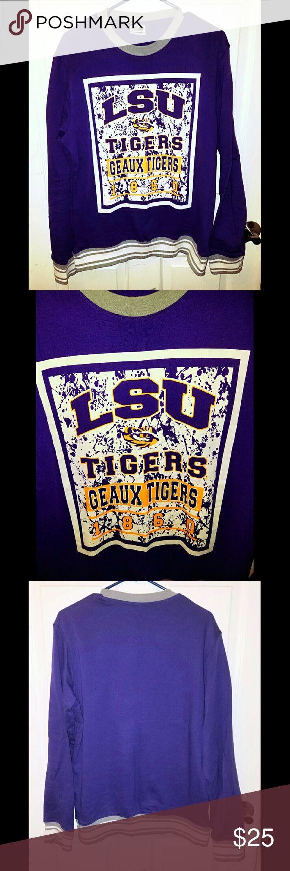 LSU sweatshirt Men's LSU sweater. Brand new without tags! Sweaters Crewneck