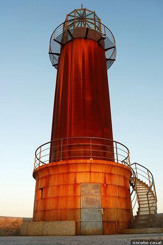 Spain, Galicia, Pontevedra, Vigo, Sea Museum's Lighthouse (by Xacobe Casal, via Flickr)