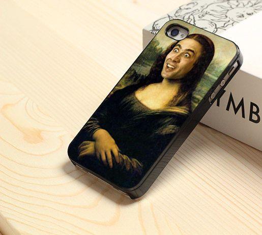 Nicolas Cage Mona Lisa iPhone 4 4s 5 5s 5c 6 6 plus Samsung Galaxy HTC Sony Case #UnbrandedGeneric