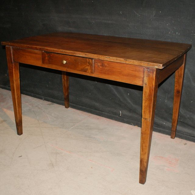 french cherry desksmall 1 drawer french cherrywood desk
