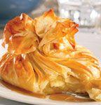 Baluchons aux pommes, sauce au sucre à la crème—Cidrerie Les Vergers de la Colline, Cantons-de-l'Est