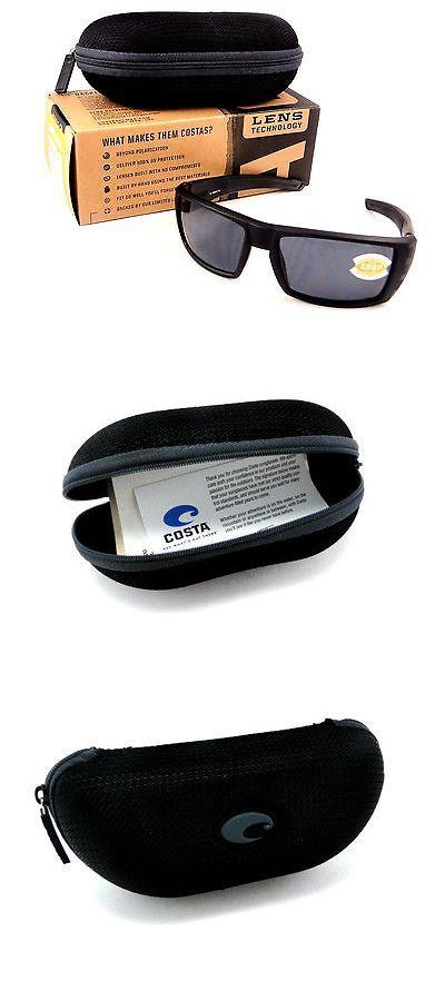 Sunglasses 151543: Costa Del Mar Sunglasses 580P Lenses Rafael Blackout Grey Rfl 01 Ogp Men, L -> BUY IT NOW ONLY: $126.75 on eBay!