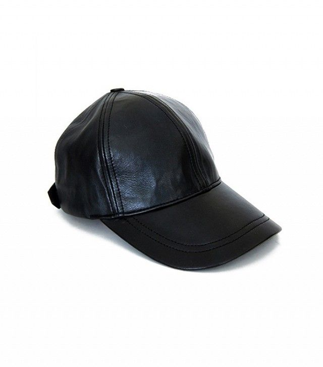 Olympia Activewear Leather Baseball Cap