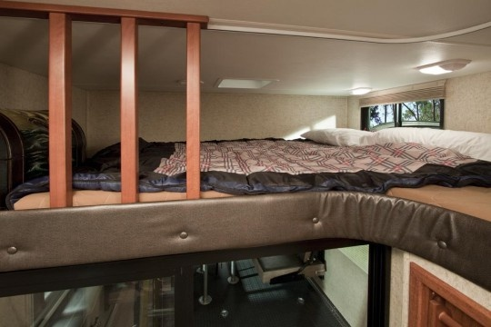 Kids Love This Loft Area In The Cyclone Toy Hauler