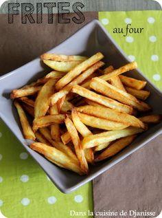 Une fort sympathique recettes de frites crousti-moelleuses maison au four