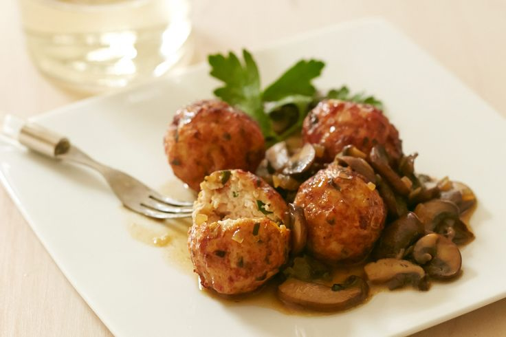 Chicken Marsala Meatballs from Giada Vegas by Giada De Laurentiis