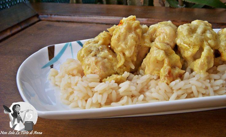 Pollo al latte di cocco e curry - Non solo le torte di Anna