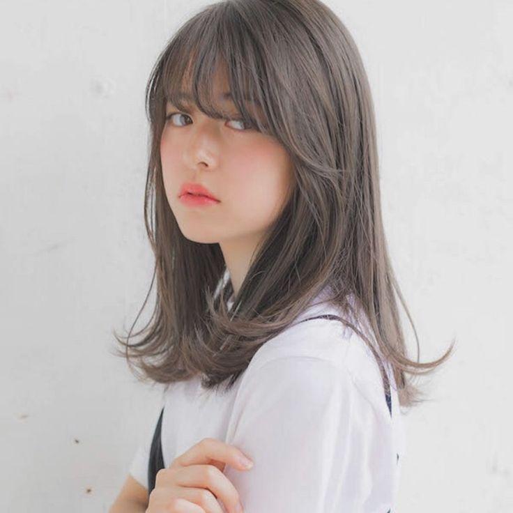 'né«ªã'りのアンニュイほつれヘア °レージュ ßディアムヘアで女っぽさアップ In 2020 Haircuts For Medium Hair Ulzzang Short Hair Medium Hair Styles