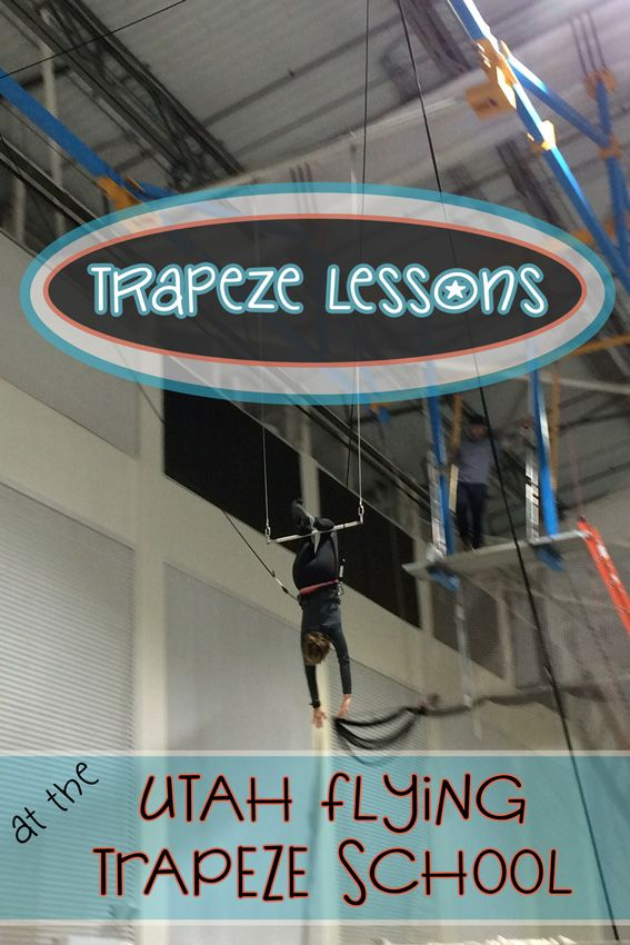 I recently took my first-ever trapeze lesson with the Utah Flying Trapeze School in Salt Lake City. Given I pretty much failed out of gymnastics class, I couldn't believe how much fun I had on the trapeze.