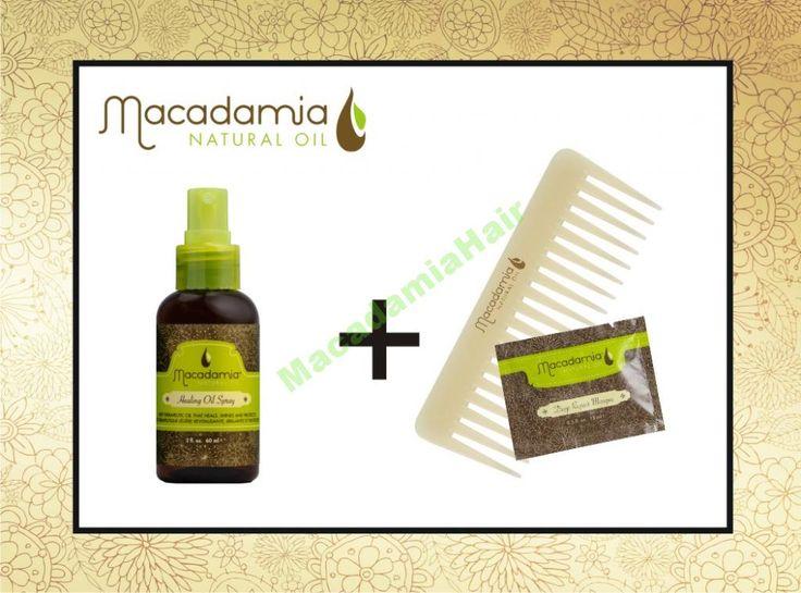 Macadamia Healing Oil Spray 60ml   gratis