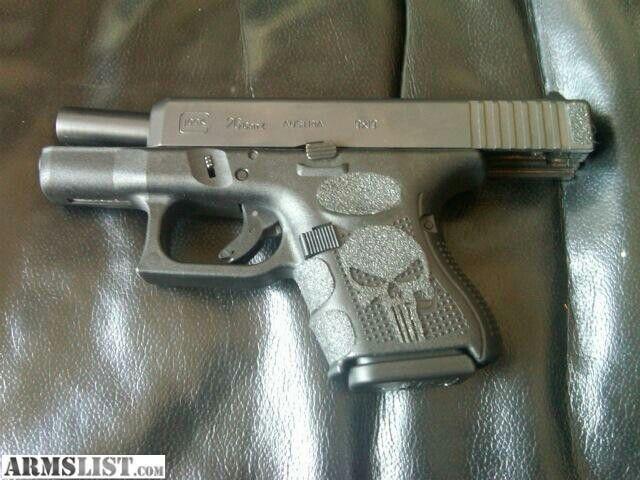 Glock 26 w / punisher skull tallon grips | Glock's ...