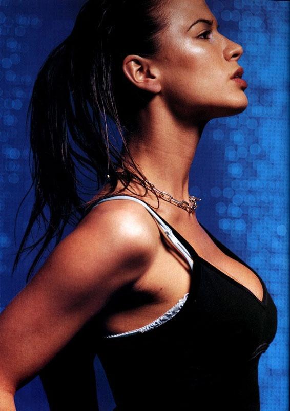 Rhona Mistra - British born Hollywood Star. A blinding beauty capable of bullying the mirror