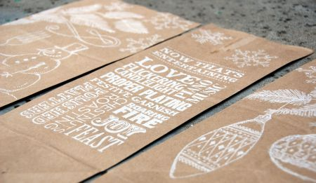 Trader Joes bags as gift wrap