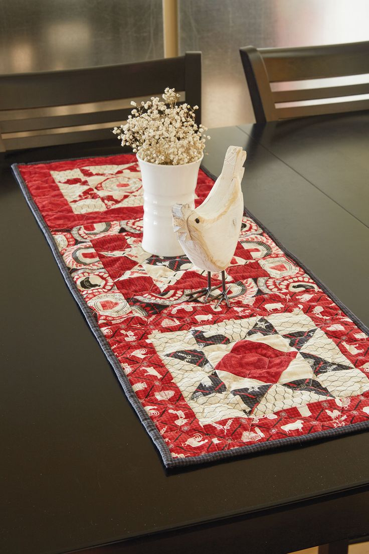 Best images about table topper runner quilt