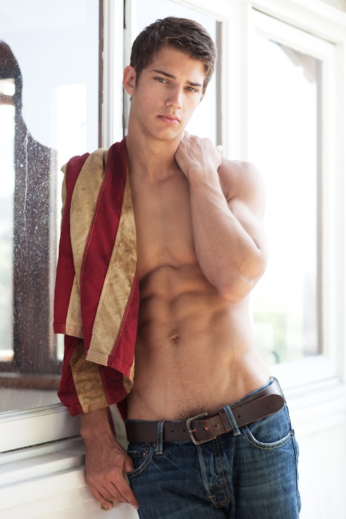 Ben Bowers, I actually went to school with him and now he's like a popular male model ha. :)