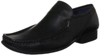 Hush Puppies Crotone Black Mens Slip On Shoes Hush Puppies. $82.42