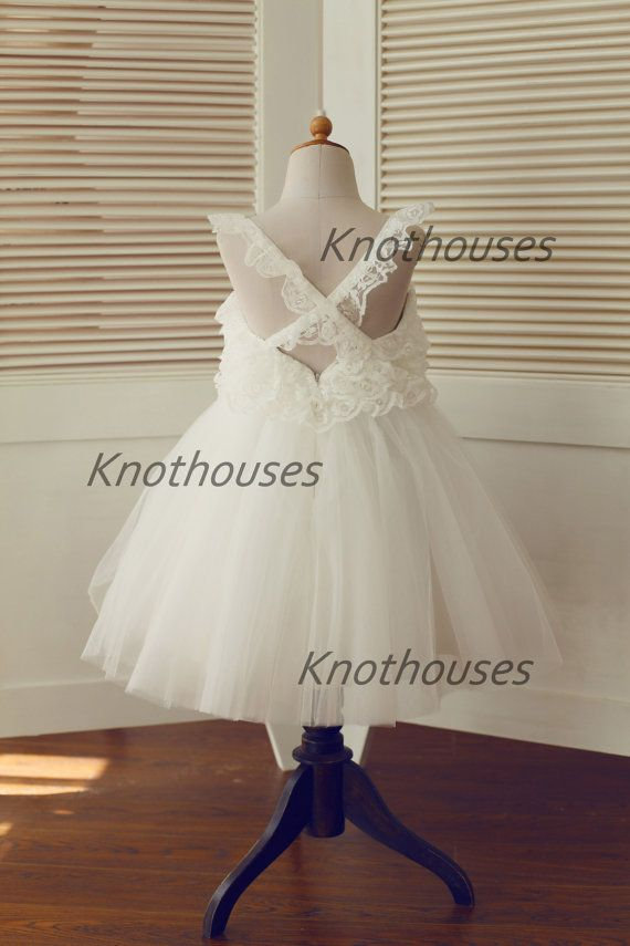 Hey, I found this really awesome Etsy listing at https://www.etsy.com/listing/207468518/lace-tulle-tutu-flower-girl-dress-cross