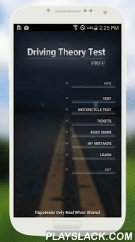 Theory Test UK 2016  Android App - playslack.com ,  With Theory Test UK 2015/2016 you will learn easy the driving theory and pass tests successfully. All questions taken from Driver and Vehicle Standards Agency (DVSA). Questions of 2016 DVSA release available nowFEATURES:★ Questions from the Theory Test for UK car drivers★ View full explanations for each question★ Highway code UK★ Test score★ Modern and frendly to use interface★ Work on mistakes mode★ Road Signs UK 2016…