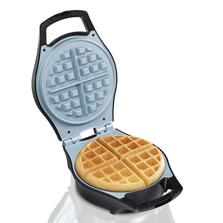 Hamilton Beach Belgium Waffle Maker, Black