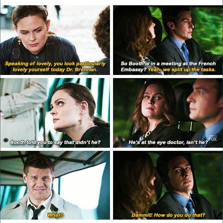 Booth and bones first hook up