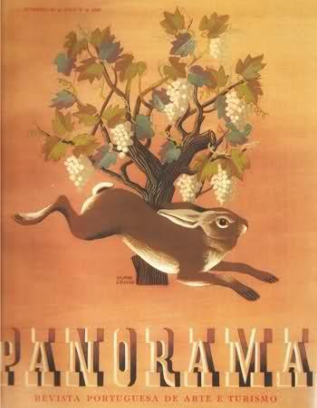capa da revista Panorama da autoria de Jorge Matos Chaves.