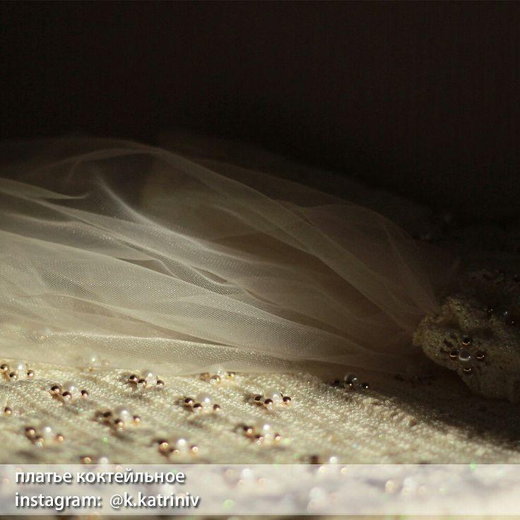 Платье коктейльное вязание крючком