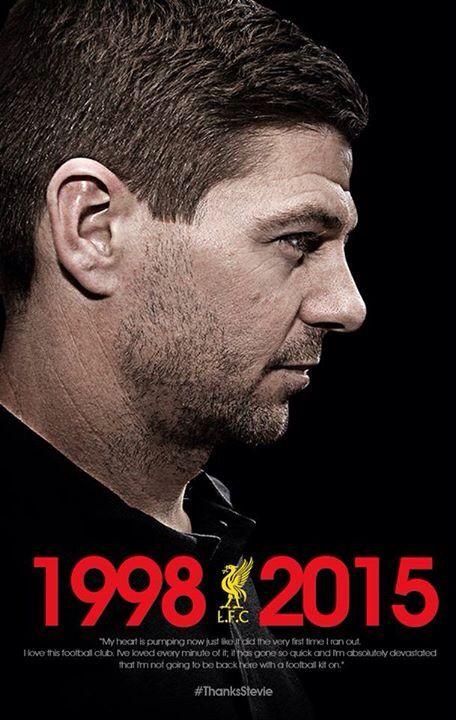 1998-2015  Liverpool legend! #alwaysared