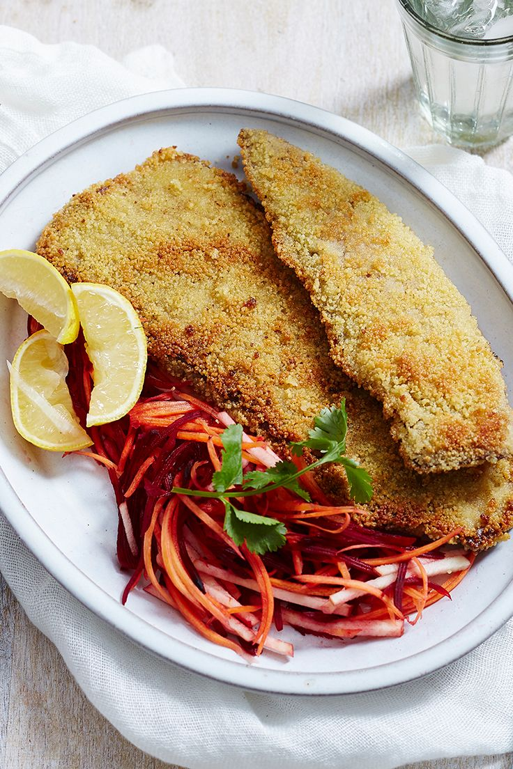 Skip the breadcrumbs and coat your schnitzels with couscous instead! Budget-friendly, super simple and so tasty, it's the perfect way to get dinner on the table in no time.