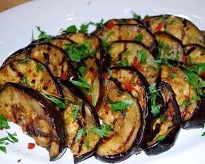 Cantinho Vegetariano: Berinjela Grelhada (vegana)