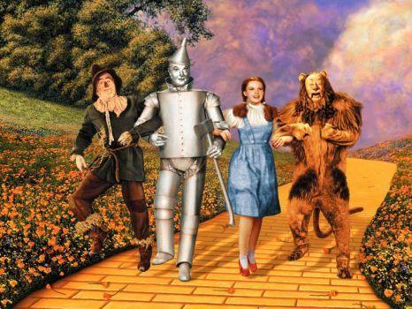 Follow the yellow brick road, follow the yellow brick road, follow the... (48 pieces)