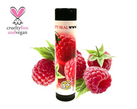 NATURAL RASPBERRY LIP BALM  Give your lips the taste of fresh picked raspberries!