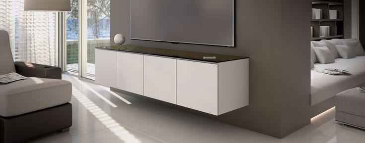 Salamander: Miami Collection: Audio Visual Equipment Cabinet | Home Entertainment Center AV Furniture
