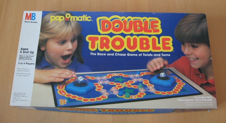 Double Trouble Games of the 80's Pinterest Game