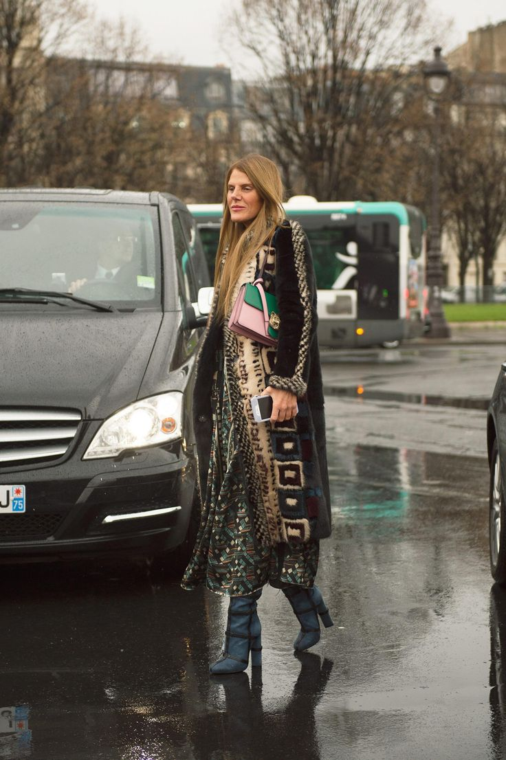 See All the Best Street Style From Paris Couture: Anna Dello Russo