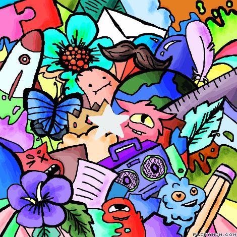 Le Doodle by ShadowEyes #gif #anim #animation #flipanim #flipbook #drawing #draw