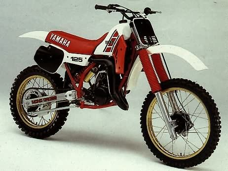 YAMAHA YZ 125 cc. 1984