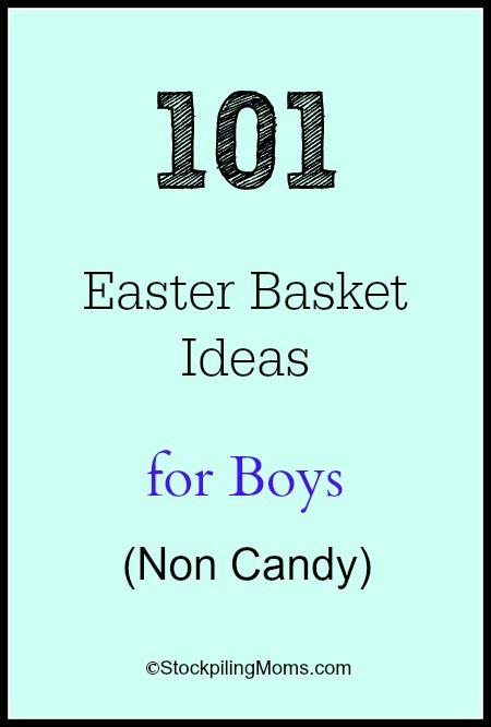 101 Easter Basket Ideas for Boys