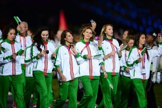 tenue officielle jeux olympiques 2012 - algérie