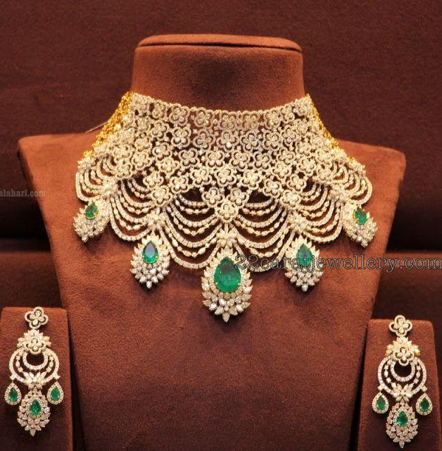 Tremendous Trendy Diamond Necklace