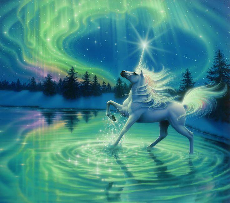 Kirk Reinert Unicorn Fantasy Artwork