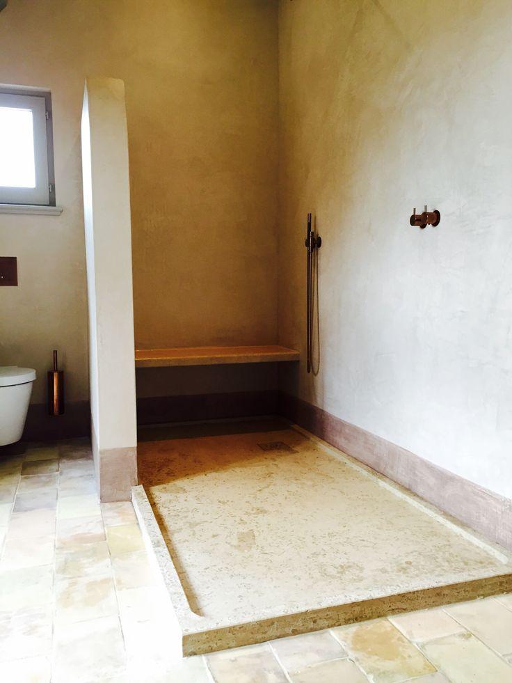 Badkamer geïnspireerd op Toscaanse boerderij